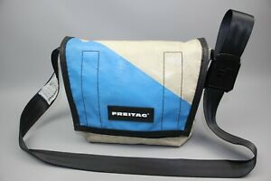 FREITAG F11 LASSIE White/Blue Cycling/Casual CLASSIC MESSENGER Bag Size S