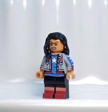 A1008 Lego CUSTOM PRINTED Young Avengers Superhero MISS AMERICA CHAVEZ MINIFIG