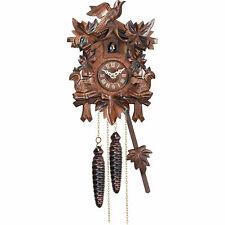"Cuckoo Clock Quartz-movement Carved-Style 9.1"" by Engstler"