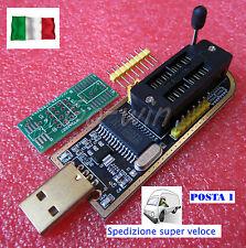 2 Programmatori USB - EEPROM 24C02 - Ludipipo Multipipo USB - eprom 24x-25xx smd