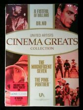 United Artists Cinema Greats Vol. 1 (DVD, 2007, 4-Disc Set) Magnificent Seven -
