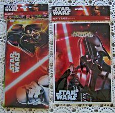 BNIP...*Star Wars* Birthday Banner & 10 Lolly Bags .....