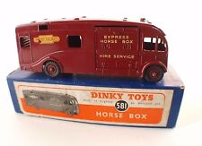 Dinky Toys GB n° 581 camion Express Horse Box British railways Truck mint RARE
