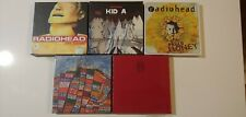 Radiohead LOT of 5 - Collector Set - The Bends/Kid A/Pablo Honey/Amnesiac/Hail