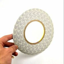 3mm 50M White Double Sided 3M Adhesive Tape Sticky for Cellphone Screen LCD Fix