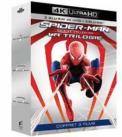 SPIDER-MAN TRILOGY 4K 3 FILM (6 BLU-RAY 4K UHD + BLU-RAY) di Sam Raimi