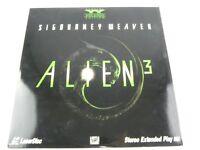 ALIEN 3 Laserdisc LD Stereo Extended Play Version
