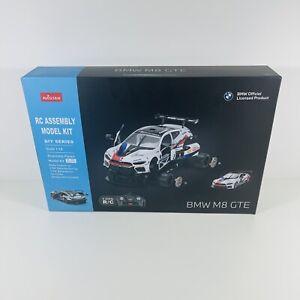 Rastar Official BMW M8 GTE RC Racing Car Kit (STEM building Kit) Brand New 1:18