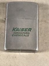 VINTAGE KAISER AGRICULTURAL CHEMICALS ADVERTISING LIGHTER THOS D MURPHY CO