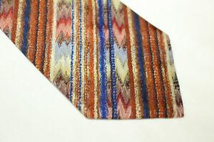 MISSONI Silk tie Made in Italy F14245