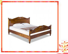 Solid Mahogany French Provincial Furniture Granville Bed Queen