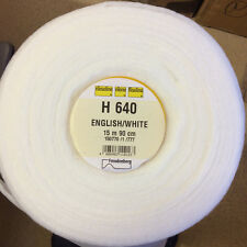 1/2 mtr Pellon - Vilene Iron on Fusible Volume Fleece Stabiliser Wadding H640