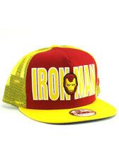 New Era Iron Man 9fifty A-Frame Snapback Hat Adjustable Cap Marvel Comics NWT