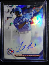 2016 Bowman's Best B16-AA Anthony Alford Blue Jays Auto Refractor Baseball Card