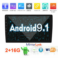 Android 9.1 Car GPS Navigation Stereo Radio Multimedia Player Universal