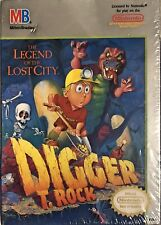 Digger T. Rock The Legend of the Lost City NES Brand New