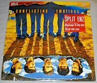 NEW still sealed SPLIT ENZ Conflicting Emotions VINYL LP record 1st ed. US album