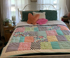 Pottery Barn Teen Patch it to Me Cotton Padded Comforter Quilt twin