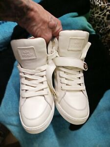 Coach Pembroke Size 10B In Women's Tan Tennis Shoes