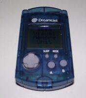 Genuine Blue Sega Dreamcast VMU Memory Card Official Brand New