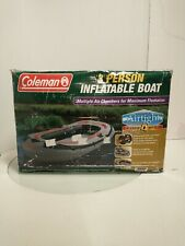 Coleman 3 Person Inflatable Boat Raft(5998-930) New in Box Sealed Never Opened