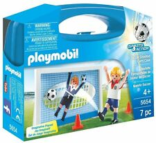 Playmobil 5654 Soccer Shootout Carry Case Playset