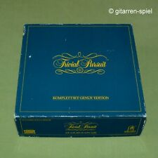 Trivial Pursuit Genus Edition - Komplett-Set mit 6000 Fragen von Parker 1A Top!