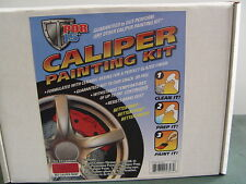 AUTO BODY SHOP PAINT BRAKE CALIBER KIT RED POR 15 COMPLETE CALIPER KIT RED