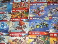 Lego ® Gros Lot Vrac 1 kilo Notice Plan Manuel Ninjago NEUF