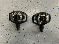 """Shimano PD-M530 SPD Clipless Pedals Mountain Road Bike Two Bolt 9/16"""" Platform"""