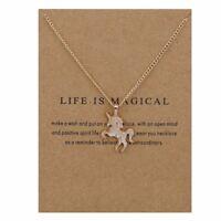 Children's Jewellery Silver or Gold colour UNICORN Necklace / Pendant & card
