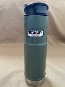 Stanley Thermos Stainless Vacuum Travel Mug Tumbler One-Handed Hand Trigger 20oz