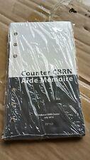 British Army Aide Memoire Counter CBRN ( Survive to Fight GSR Gas Mask )