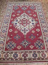 5' x 8' Kazak Rawalpindi Splendid Carpet Made by hand Area Rug (65x98 in)