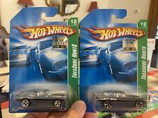 2008 Master Set Hotwheels Treasure Hunt Super Regular '69 Camaro #12/12
