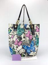 COACH 13415 Parker Bandana Jewel Butterfly Extra Large XL Tote Bag Purse Rare