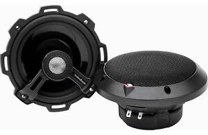 """ROCKFORD FOSGATE POWER T152  2 Way 5.25"""" Speakers Aluminum Dome Tweeters 120 RMS"""