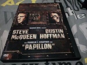 Papillon dvd snap, snapper, keep case region 1, Steve McQueen, Dustin Hoffman