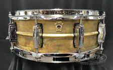 Ludwig Snare Drum 5x14 Raw Brass Shell - LB454R