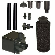 Beckett Corporation Pond Pump Kit with Prefilter and Nozzles 600 GPH Pond Water