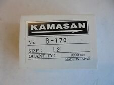 KAMASAN B170 Fly Tying and Bait Hooks X 25 Size 12.