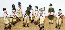 More details for morris dancers musicians f36p painted oo scale langley models people figures