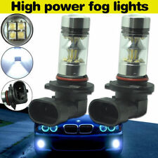2X 9006 HB4 6000K White 100W CREE XBD LED Projector Fog Driving DRL Light Bulbs