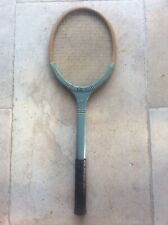 Vintage English Dunlop Match Point Tennis Racket 1960s Prop Window Display