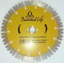 "5 Pack 7"" Saber Tooth Segmented Diamond Blade"