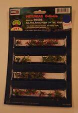 "O Scale JTT Scenery Products 95508 * Petunias, 40/Pk 3/4"" Tall * NIB"