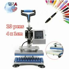 3D Sublimation Heat Press Printer Transfer Machine For 10* Ballpoint Pen 200W
