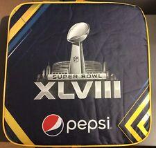 NFL Super Bowl XLVIII Pepsi Halftime Show Promo Hat Bandanna Cozy Radio Cushion