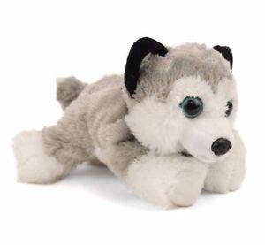 "HUG'EMS MINI HUSKY PLUSH SOFT TOY DOG 7"" STUFFED ANIMAL BY WILD REPUBLIC - BNWT"