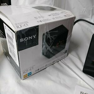 SONY ICF-C1 FM/AM Dual Alarm Clock Radio Clean and Bright